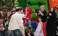 18.06.2014 Czerwony Bor woj podlaskie Osrodek dla uchodzcow. Obecnie przebywa w nim ponad 100 osob, glownie z Czeczeni fot Michal Kosc / AGENCJA WSCHOD