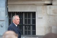 François Bayrou Obsèques de Jacques Chirac Lundi 30 Septembre 2019 église Saint Sulpice Paris