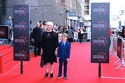 Edinburgh International Film Festival 2019<br /> <br /> Mrs Lowry (UK Premiere, closing night gala)<br /> <br /> Pictured: Debbie Gray (producer) and Laurie Mills<br /> <br /> Aimee Todd   Edinburgh Elite media