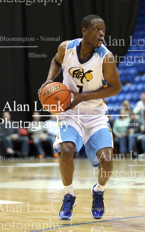29 March 2013: The Bloomington Flex hosts the Gary Splash, both members of the Independent Basketball Association-Premier Basketball League (IBA-PBL) at the U.S. Cellular Coliseum in Bloomington Illinois