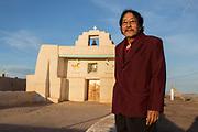 Zia pueblo Governor Anthony Delgarito for New Mexico Magazine