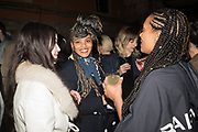 ARIANA PAPADEMEMETROPOULOS, BETH BIRKETT-GIBBS, ONYE ANYANWU, May You Party in Interesting Times, Ralph Rugoff hosts a party for the artists with the Store X , Vinyl Factory and Laylow, Palazzo Benzon, Venice. 7 May 2019