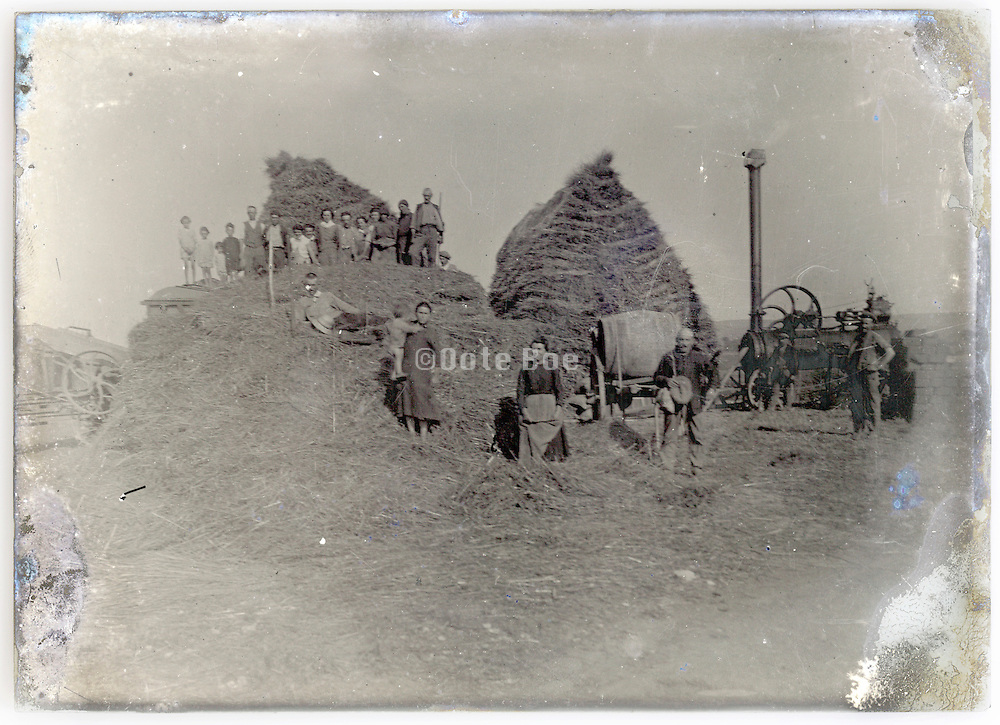 early mechanization of the farm with steam engine