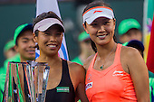 Tennis: BNP Paribas Open 2014 Women Doubles Final