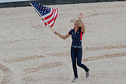 Opening ceremony, Graves Laura, USA<br /> World Equestrian Games - Tryon 2018<br /> © Hippo Foto - Dirk Caremans<br /> 11/09/2018