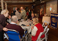 Kiwanis 100th birthday celebration at the Belknap Mill in Laconia Wednesday, January 21, 2015.  Karen Bobotas for the Laconia Daily Sun