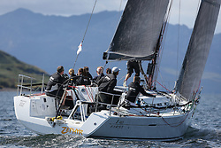 Peelport Clydeport, Largs Regatta Week 2014 Largs Sailing Club based at  Largs Yacht Haven <br /> <br /> GBR8140C ,Zephyr, S Cowie/ I Marshall, CCC/FYC/RGYC ,First 40