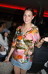 ISOBEL BUCHANAN-JARDINE at a night of Cuban Cocktails and Cabaret hosted by Edward Taylor and Charles Beamish at Floridita, 100 Wardour Street, London W1 on 14th April 2005.<br /><br />NON EXCLUSIVE - WORLD RIGHTS