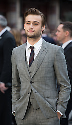 Douglas Booth arrives for the UK premiere of the film 'Noah', Odeon, London, United Kingdom. Monday, 31st March 2014. Picture by Daniel Leal-Olivas / i-Images