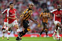 Marlon King (Hull). Arsenal Vs Hull City. Barclays Premier League. Emirates Stadium. London. 27/09/2008. Credit Colorsport/Garry Bowden