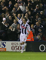 Photo: Mark Stephenson.<br /> West Bromwich Albion v Middlesbrough. The FA Cup. 27/02/2007.West Brom's Darren Carter put them 1-0 ahead in the first half