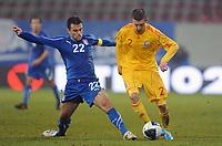 """Giuseppe ROSSI Italia, RAPA Romania<br /> Klagenfurt, 17/11/2010 Stadio """"Wortersee""""<br /> Italia-Romania<br /> Amichevole internazionale<br /> Foto Nicolo' Zangirolami Insidefoto"""