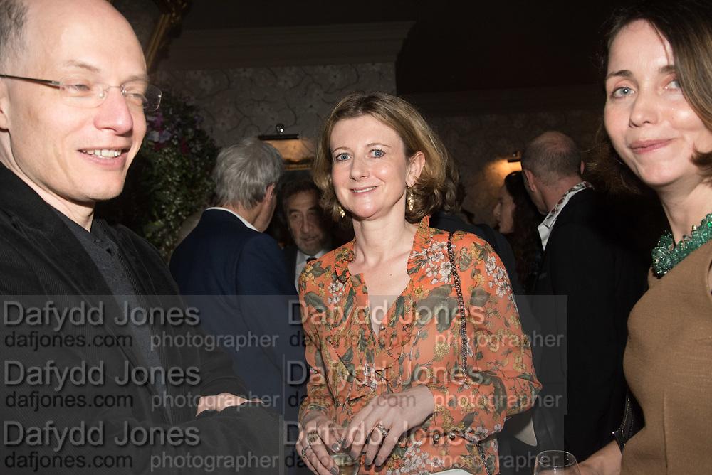 FRANCES OSBORNE,  The inaugural Cliveden Literary Festival announcement. Cadogan Gardens. London. 15 May 2017