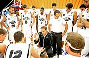 DESCRIZIONE : Lizzano in Belvedere Lega A 2013-14 Granarolo Virtus Bologna PBC CSKA Moskow <br /> GIOCATORE : Coach Luca Bechi<br /> SQUADRA : Granarolo Virtus Bologna  <br /> EVENTO : PRECampionato Lega A 2013-2014<br /> GARA :  Granarolo Virtus Bologna PBC CSKA Moskow<br /> DATA : 17/09/2013<br /> CATEGORIA : Coach Time Out<br /> SPORT : Pallacanestro<br /> AUTORE : Agenzia Ciamillo-Castoria/A.Giberti<br /> Galleria : Lega Basket A 2013-2014<br /> Fotonotizia : Lizzano in Belvedere Lega A 2013-14 Granarolo Virtus Bologna PBC CSKA Moskow  <br /> Predefinita :