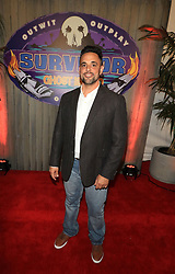 "Domenick Abbate at the season 36 finale celebration of ""Survivor: Ghost Island"" held at CBS Television Studios in Los Angeles, CA."