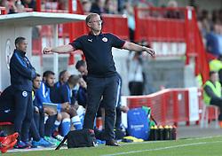 Crawley Manager, Mark Yates - Mandatory by-line: Paul Terry/JMP - 22/07/2015 - SPORT - FOOTBALL - Crawley,England - Broadfield Stadium - Crawley Town v Brighton and Hove Albion - Pre-Season Friendly