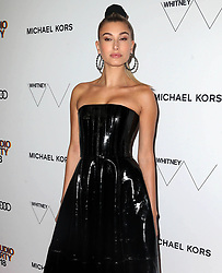 May 22, 2018 - New York, New York, U.S. - HAILEY BALDWIN at the Whitney Museum Gala and Studio Party 2018 in New York City. (Credit Image: © Starmax/Newscom via ZUMA Press)