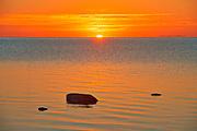 Sunrise on Lake Winnipeg<br />Matlock<br />Manitoba<br />Canada