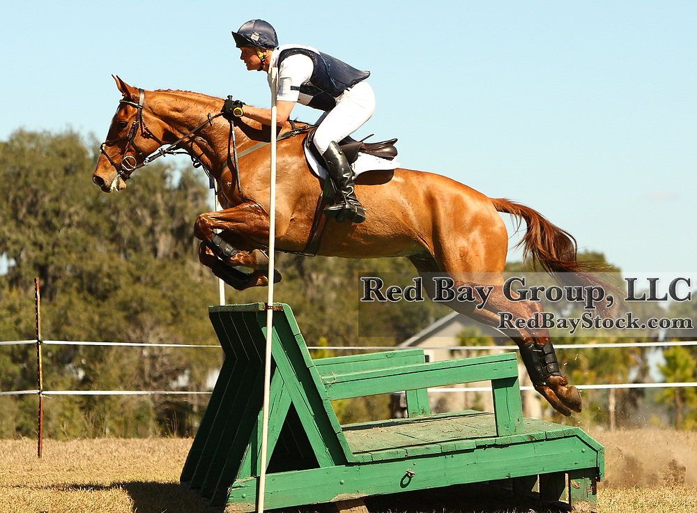 Leslie Law and Fleeceworks Mystere Du Val at the Rocking Horse Adanced Horse Trials in Altoona, Florida.