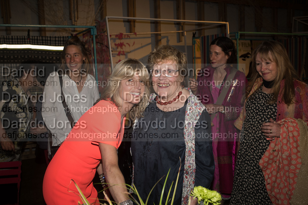 RACHEL JOHNSON; CHARLOTTE JOHNSON WAHL, Rachel Johnson book launch of Fresh Hell, Acklam Village Market, Acklam Rd. London W10.