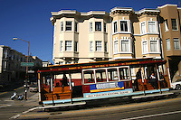 The San Francisco cable car system is the world's last  manually operated cable car system, and is an icon of San Francisco, California. The cable car system forms part transport network operated by the San Francisco Municipal Railway, or Muni as it is better known. Cable cars operate on two routes from downtown near Union Square to Fisherman's Wharf and a third route along California Street.