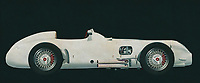 The 1954 Mercedes W196 Silver Arrow was the spearhead of Mercedes on the race track in the mid 1950's. Famous autopilots drove legendary races with this Mercedes W196 Silver Arrow. The technology introduced in this Mercedes has been adopted by many. The 1954 Mercedes W196 Silver Arrow is without a doubt one of the most important Mercedes cars ever.<br /> <br /> This painting of a 1954 Mercedes W196 Silver Arrow can be printed very large on different materials. The work has a panoramic proportion and is very suitable to add a detail in a workspace, showroom or just at home that will impress your visitors. –<br /> <br /> BUY THIS PRINT AT<br /> <br /> FINE ART AMERICA<br /> ENGLISH<br /> https://janke.pixels.com/featured/the-1954-mercedes-w196-silver-arrow-is-the-fastest-mercedes-of-t-jan-keteleer.html<br /> <br /> WADM / OH MY PRINTS<br /> DUTCH / FRENCH / GERMAN<br /> https://www.werkaandemuur.nl/nl/shopwerk/Mercedes-W196-Zilveren-Pijl-1954/589446/132<br /> <br /> -
