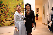 DOWAGER VISCOUNTESS ROTHERMERE; PAMELA JOINER Korean Eye Dinner  hosted by The Dowager Viscountess Rothermere and Simon De Pury.Sponsored by CJ, Korean Food Globalization Team, Hino Consulting and Visit Korea Committee. Phillips de Pury Space, Saatchi Gallery.  Sloane Sq. London. 2 July 2009.