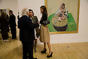 Tony Shafrazi; Mollie Dent-brocklehurs; Dasha Zhukova, Francis Bacon opening private view and dinner. Tate Britain. 8 September 2008 *** Local Caption *** -DO NOT ARCHIVE-© Copyright Photograph by Dafydd Jones. 248 Clapham Rd. London SW9 0PZ. Tel 0207 820 0771. www.dafjones.com.