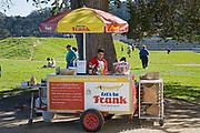 Grass Fed Hot Dog Stand, Chrissy Field, Presidio, San Francisco, California, USA