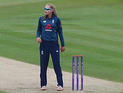 June 15, 2018 - Canterbury, England, United Kingdom - Sophie Ecclestone of England Women.during Women's One Day International Series match between England Women against South Africa Women at The Spitfire Ground, St Lawrence, Canterbury, on 15 June 2018  (Credit Image: © Kieran Galvin/NurPhoto via ZUMA Press)