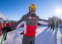 22.01.2019, Streif, Kitzbühel, AUT, FIS Weltcup Ski Alpin, Abfahrt, Herren, 1. Training, im Bild Max Franz (AUT) // Max Franz of Austria during the 1st Training of mens downhill of FIS Ski Alpine Worldcup at the Streif in Kitzbühel, Austria on 2019/01/22. EXPA Pictures © 2019, PhotoCredit: EXPA/ Johann Groder