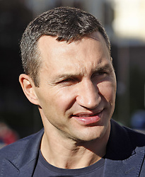 October 1, 2018 - Kiev, Ukraine - Ukrainian heavyweight boxing champion Vladimir Klitschko attends an official opening of the 56th WBC ( World Boxing Council ) Convention in Kiev, Ukraine, 01 October, 2018. The 56th WBC Convention takes place in Kiev from September 30 to October 05. The event participate of boxing legends Lennox Lewis, Evander Holyfield, Eric Morales, Alexander Usik, Vitali Klitschko and about 700 congress participants from 160 countries. (Credit Image: © Str/NurPhoto/ZUMA Press)