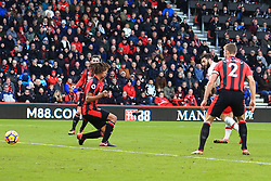 3 December 2017 -  Premier League - Bournemouth v Southampton - Charlie Austin of Southampton scores a goal to make it 1-1 - Photo: Marc Atkins/Offside