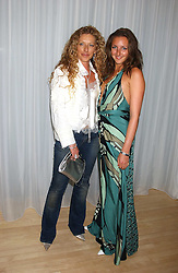 Left to right, KELLY HOPPEN and her daughter NATASHA CORRETT at party in aid of cancer charity Clic Sargent held at the Sanderson Hotel, Berners Street, London on 4th July 2005.<br /><br />NON EXCLUSIVE - WORLD RIGHTS