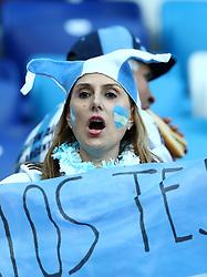 June 21, 2018 - Nizhny Novgorod, Russia - Group D Argentina v Croazia - FIFA World Cup Russia 2018.Argentina supporters at Nizhny Novgorod Stadium, Russia on June 21, 2018. (Credit Image: © Matteo Ciambelli/NurPhoto via ZUMA Press)