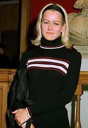 MISS EMMA PARKER-BOWLES, niece of Camilla Parker-Bowles, at a party in London on 30th June 1997.LZU 26