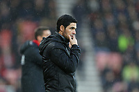 Football - 2019 / 2020 Premier League - AFC Bournemouth vs. Arsenal<br /> <br /> Arsenal Head Coach Mikel Arteta during the Premier League match at the Vitality Stadium (Dean Court) Bournemouth  <br /> <br /> COLORSPORT/SHAUN BOGGUST