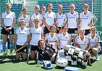 DEN HAAG - hockey- Het team van de ZWARTE TULPEN. wedstrijd tussen de ZwarteTulpen en een Rabobank team. COPYRIGHT KOEN SUYK