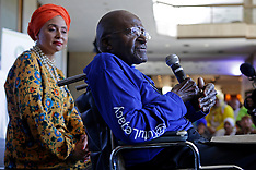 Cape Town - Archbishop Emeritus Desmond Tutu Attends Woman's Day Event - 09 Aug 2016