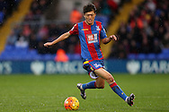 Chung-young Lee of Crystal Palace in action. Barclays Premier League match, Crystal Palace v Chelsea at Selhurst Park in London on Sunday 3rd Jan 2016. pic by John Patrick Fletcher, Andrew Orchard sports photography.