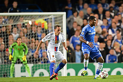 18.09.2013, Stamford Bridge, London, ENG, UEFA Champions League, FC Chelsea vs FC Basel, Gruppe E, im Bild Chelsea's Samuel Eto'o   during UEFA Champions League group E match between FC Chelsea and FC Basel at the Stamford Bridge, London, United Kingdom on 2013/09/18. EXPA Pictures © 2013, PhotoCredit: EXPA/ Mitchell Gunn <br /> <br /> ***** ATTENTION - OUT OF GBR *****