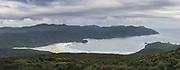 Looking over Doughboy Bay from Doughboy Hill, The Southern Circuit, Stewart Island / Rakiura, New Zealand Ⓒ Davis Ulands | davisulands.com