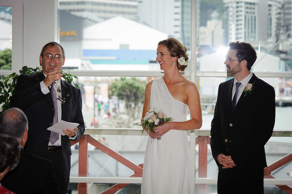 Megan and Chris had their wedding on Friday February 3, 2012 at The Boatshed, Frank Kits Lagoon on Wellington's waterfront...Photo by Mark Tantrum   www.marktantrum.com