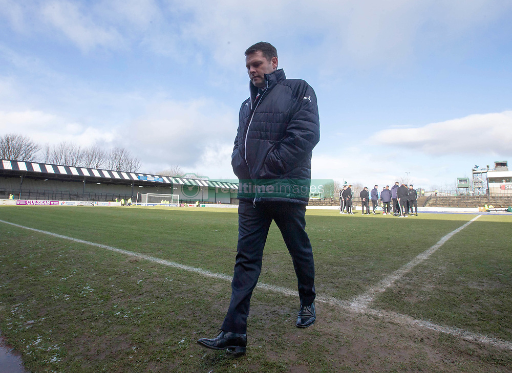 Rangers manager Graeme Murty before the William Hill Scottish Cup, fifth round match at Somerset Park, Ayr.