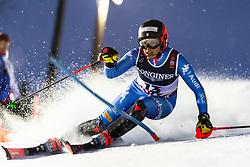 February 8, 2019 - Re, SWEDEN - 190208 Federica Brignone of Italy competes in the women's combination during the FIS Alpine World Ski Championships on February 8, 2019 in re  (Credit Image: © Daniel Stiller/Bildbyran via ZUMA Press)