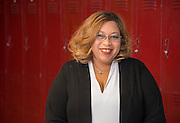Black Middle School assistant principal Crystal Ardoin-Richmond poses for a photograph, March 10, 2014. Ardoin-Richmond was named Houston ISD March 2014 Employee of the Month.