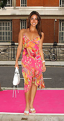 Model LEILANI at a charity event 'In The Pink' a night of music and fashion in aid of the Breast Cancer Haven in association with fashion designer Catherine Walker held at the Cadogan Hall, Sloane Terrace, London on 20th June 2005.<br /><br />NON EXCLUSIVE - WORLD RIGHTS