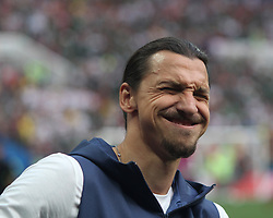 June 17, 2018 - Moscow, Russia - June 17, 2018, Russia, Moscow, FIFA World Cup, First round, Group F, Germany vs Mexico at the Luzhniki stadium. Player of the national team Zlatan Ibrahimovic. (Credit Image: © Russian Look via ZUMA Wire)