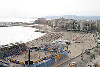 Beachvolleyball, Volleyball, Swatch - FIVB World Tour, World of TUI Open de Mallorca, Spain 5-7/09-03,<br />Main court<br />Foto: Sigbjørn Andreas Hofsmo, Digitalsport
