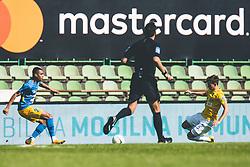 Žan Trontelj of NK Bravo during football match between NK Bravo and NK Celje in 32nd Round of Prva liga Telekom Slovenije 2020/21, on May 4, 2021 in Sports park Domzale, Slovenia. Photo By Grega Valancic / Sportida